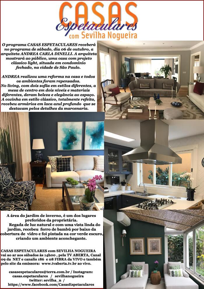 casas espetaculares- programa de Tv- sevilha Nogueira