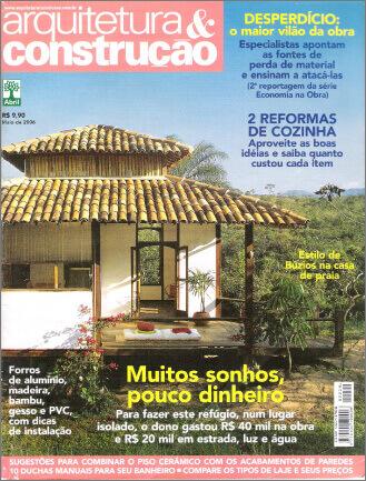 REVISTA ARQUITETURA CONTRUÇÃO - Site Andrea Dinelli
