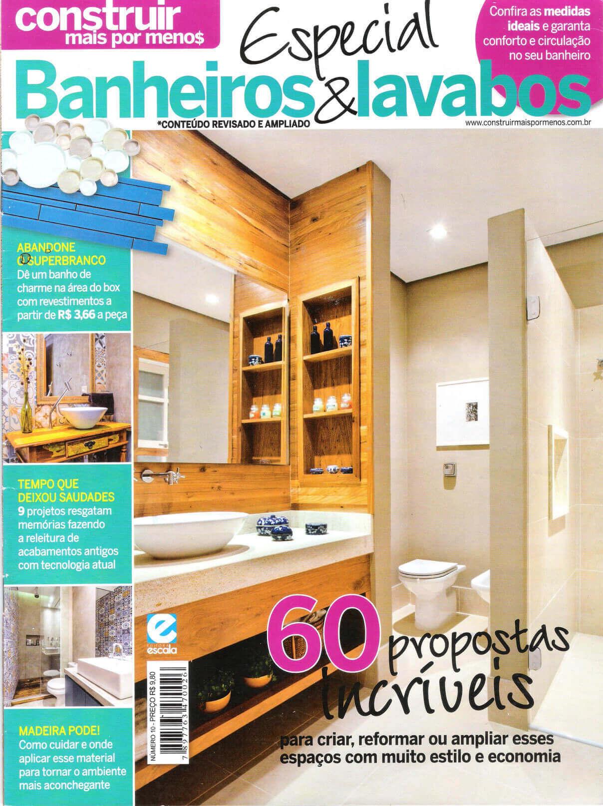 banheiros e lavabos- capa